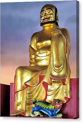 Buddha Canvas Print by Christine Till