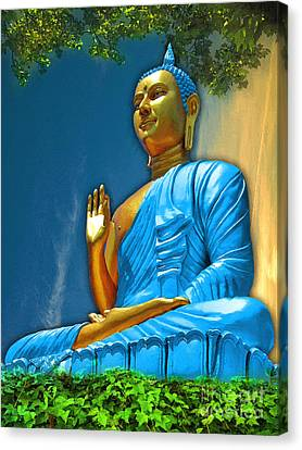 Buddha Daylight Canvas Print