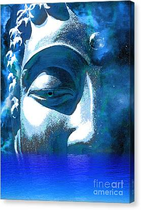 Buddha Emergence Canvas Print