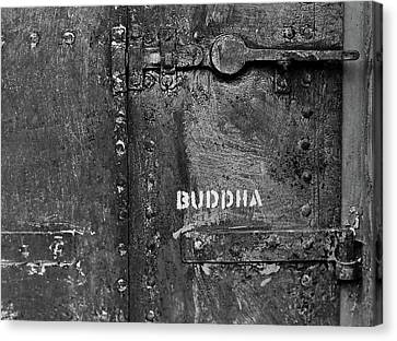 Canvas Print featuring the photograph Buddha by Laurie Stewart