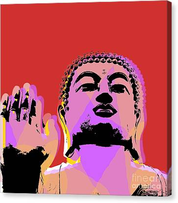 Buddha Pop Art  Canvas Print