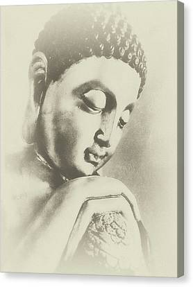 Buddha Profile Dream Canvas Print