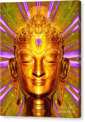 Buddha Smile Canvas Print