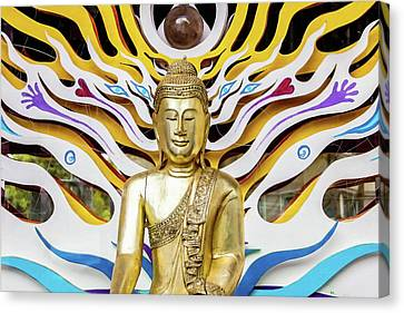 Buddha Strings Canvas Print by Art Block Collections