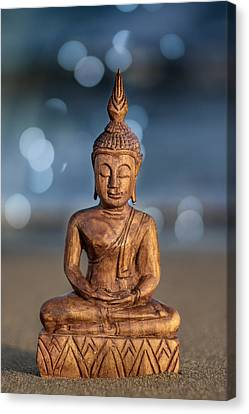 China Beach Canvas Print - Buddha  by Stelios Kleanthous
