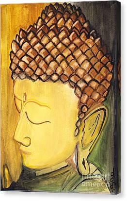 Buddha Canvas Print by Supriya Chouhan Bhardwaj