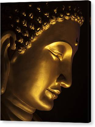 Buddha Taken At Fgs Dong Zen Buddhist Temple Canvas Print