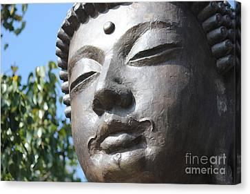 Canvas Print featuring the photograph Buddha by Wilko Van de Kamp