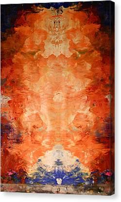 Buddhalands Central Detail Canvas Print