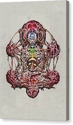 Buddhatron's Cubensis Canvas Print by Will Shanklin