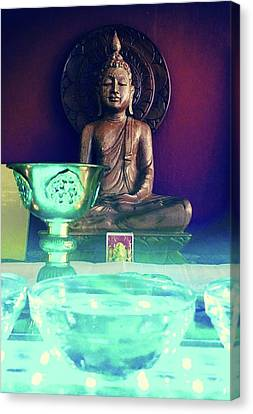 Buddhism Canvas Print by Contemporary Art
