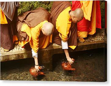 Buddhist Canvas Print