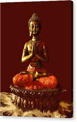 Buddhist Statue  Canvas Print