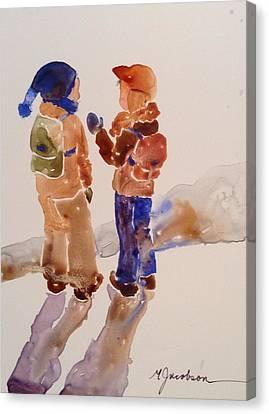 Canvas Print - Buddies by Marilyn Jacobson