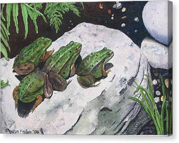 Buddies Canvas Print by Sharon Farber