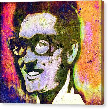 Buddy Holly 2 Canvas Print by Otis Porritt