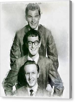 Buddy Holly And The Crickets Canvas Print