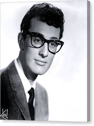 Buddy Holly Canvas Print by The Titanic Project