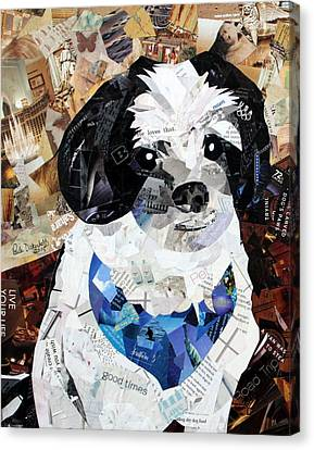Buddy Canvas Print by Paula Dickerhoff