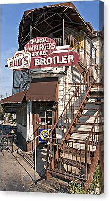 Bud's Broiler New Orleans Canvas Print by Kathleen K Parker