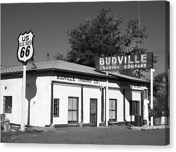 Budville Trading Co. Canvas Print by Eric Foltz