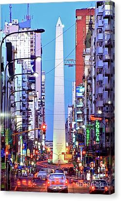 Buenos Aires Obelisk Canvas Print