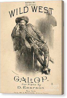Buffalo Bill Canvas Print