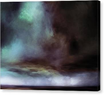 Buffalo Cloud Canvas Print by Lonnie Christopher