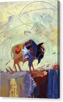 Buffalo IIi Canvas Print by Shelli Walters