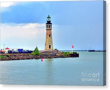 Buffalo Lighthouse Canvas Print