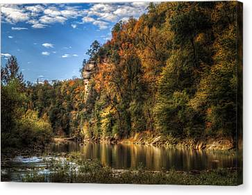 Buffalo National River Canvas Print by James Barber