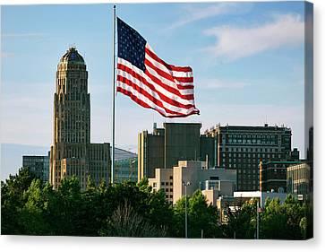 Buffalo Ny All American City Canvas Print