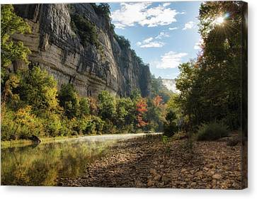 Buffalo River Morning Canvas Print by James Barber