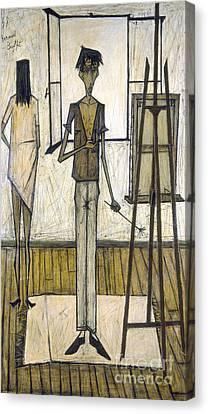 Buffet: Artist, 1948 Canvas Print by Granger