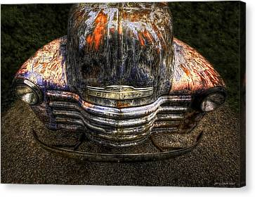 Red Chev Canvas Print - Bug Eyes by Jerry Golab