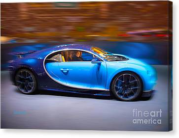 Bugatti Chiron 3 Canvas Print