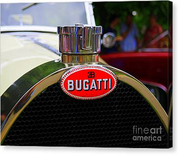 Bugatti Red Canvas Print