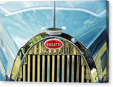 Front End Canvas Print - Bugatti  by Tim Gainey