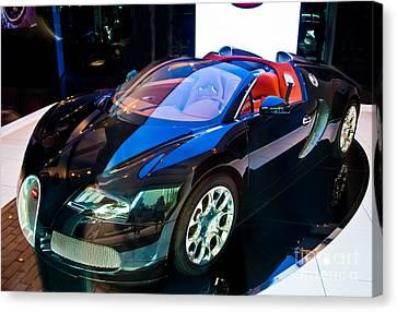 Bugatti Veyron Targa Canvas Print