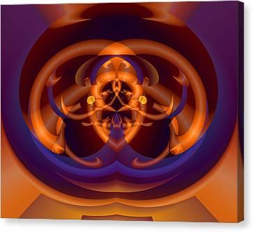Canvas Print featuring the digital art Bugged by Lynda Lehmann