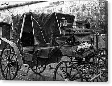 Buggy In Salzburg Canvas Print by John Rizzuto