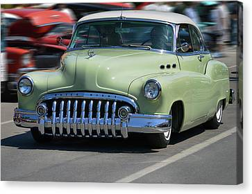 Buick 8 At Speed Canvas Print by Bill Dutting