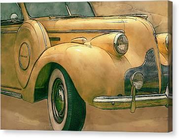Buick Classic Canvas Print by Jack Zulli