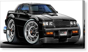 Buick Grand National Canvas Print by Maddmax