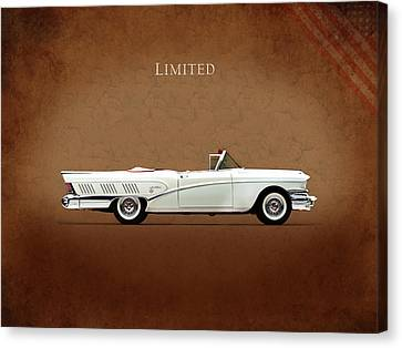 Buick Limited 1958 Canvas Print by Mark Rogan