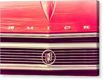 Canvas Print featuring the photograph Buick Retro by Caitlyn Grasso
