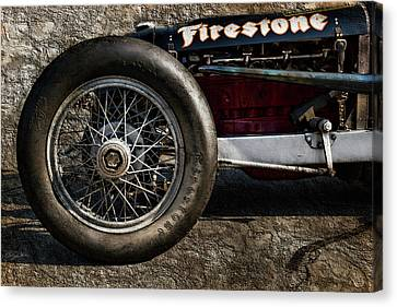 Buick Shafer 8 Canvas Print by Peter Chilelli