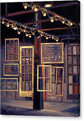 Building 8 At The Factory Canvas Print by Janet King