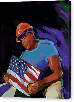 Building America Canvas Print by Brad Burns