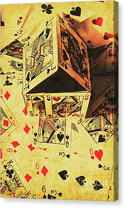 Bet Canvas Print - Building Bets And Stacking Odds by Jorgo Photography - Wall Art Gallery